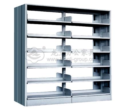 单柱双面钢制书架